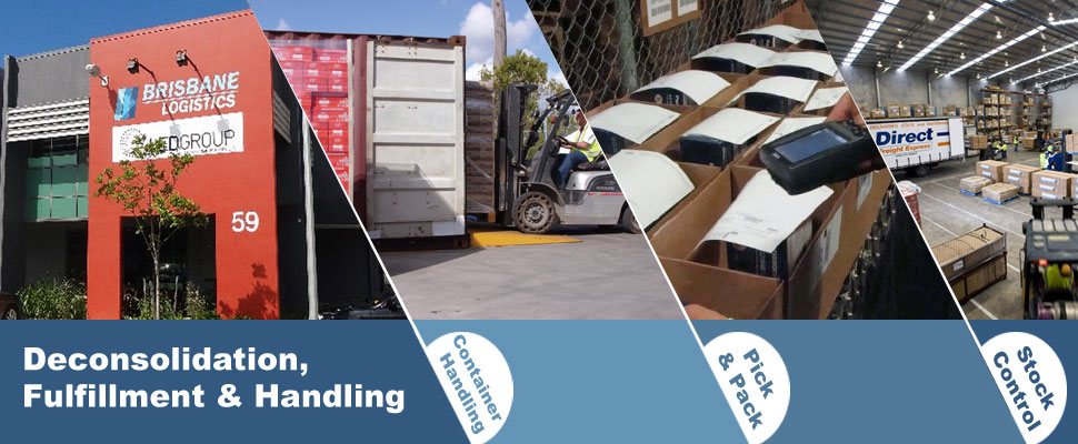 Pick & Pack 3PL Brisbane Logistics